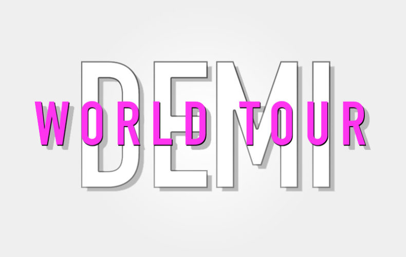 Demi World Tour