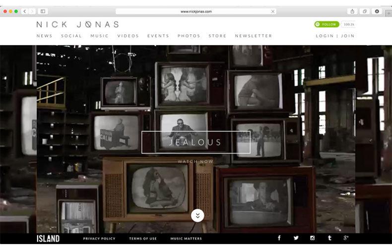NickJonas.com