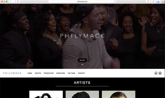 Philymack Website
