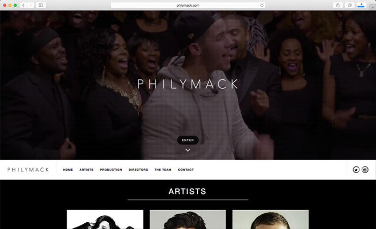 Philymack Website