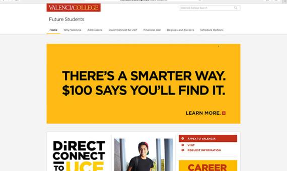Future Students Website